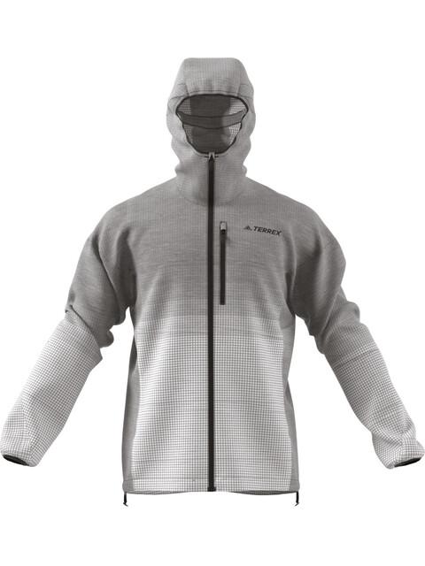 adidas TERREX Agravic Windweave Kurtka do biegania Mężczyźni beżowy/szary